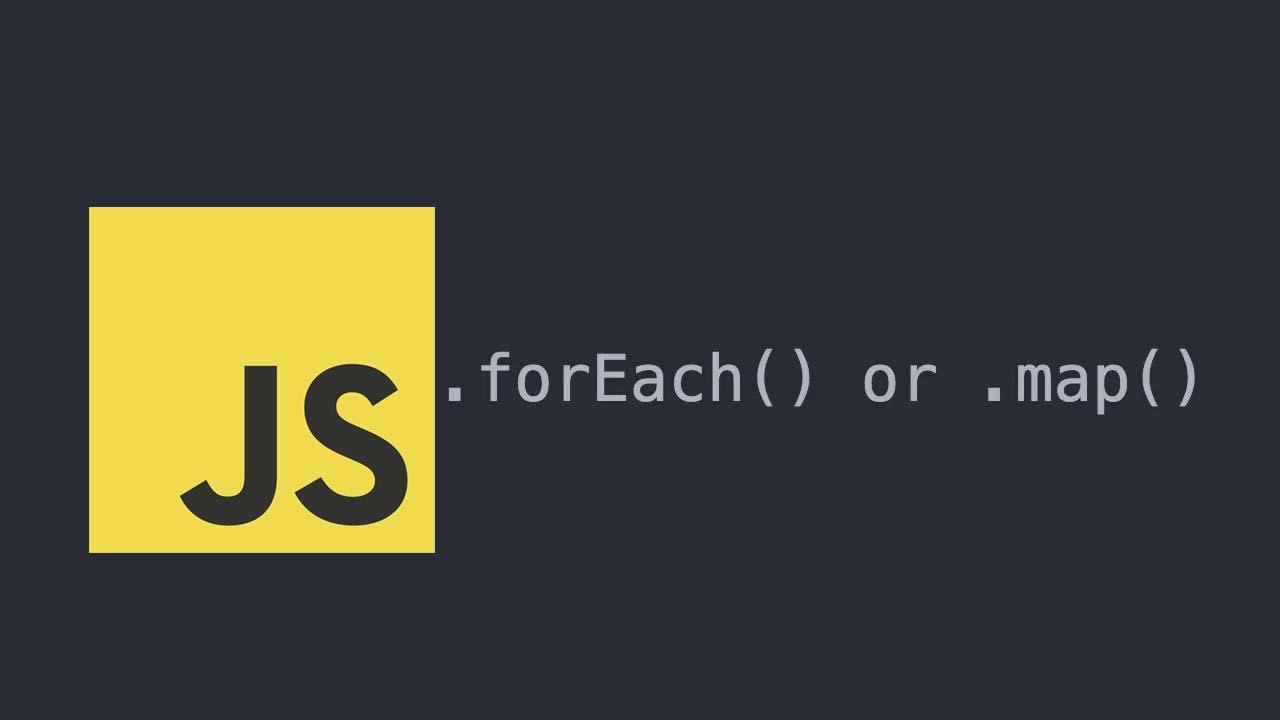 Neste post iremos falar sobre a diferença entre os dois métodos  foreach() e map(). Quando usar um ou o outro.
